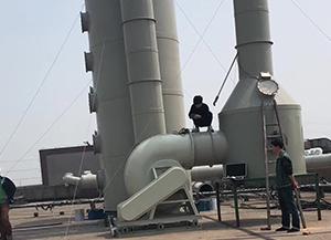 博湖酸雾废气处理工程主要设备案例