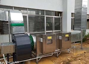 安吉塑料行业废气治理