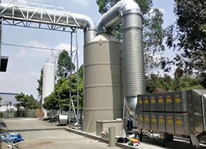 乡城污水泵站废气处理设备项目