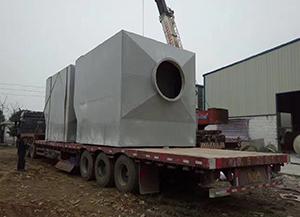 宿州苏州新区橡胶厂喷漆废气处理项目